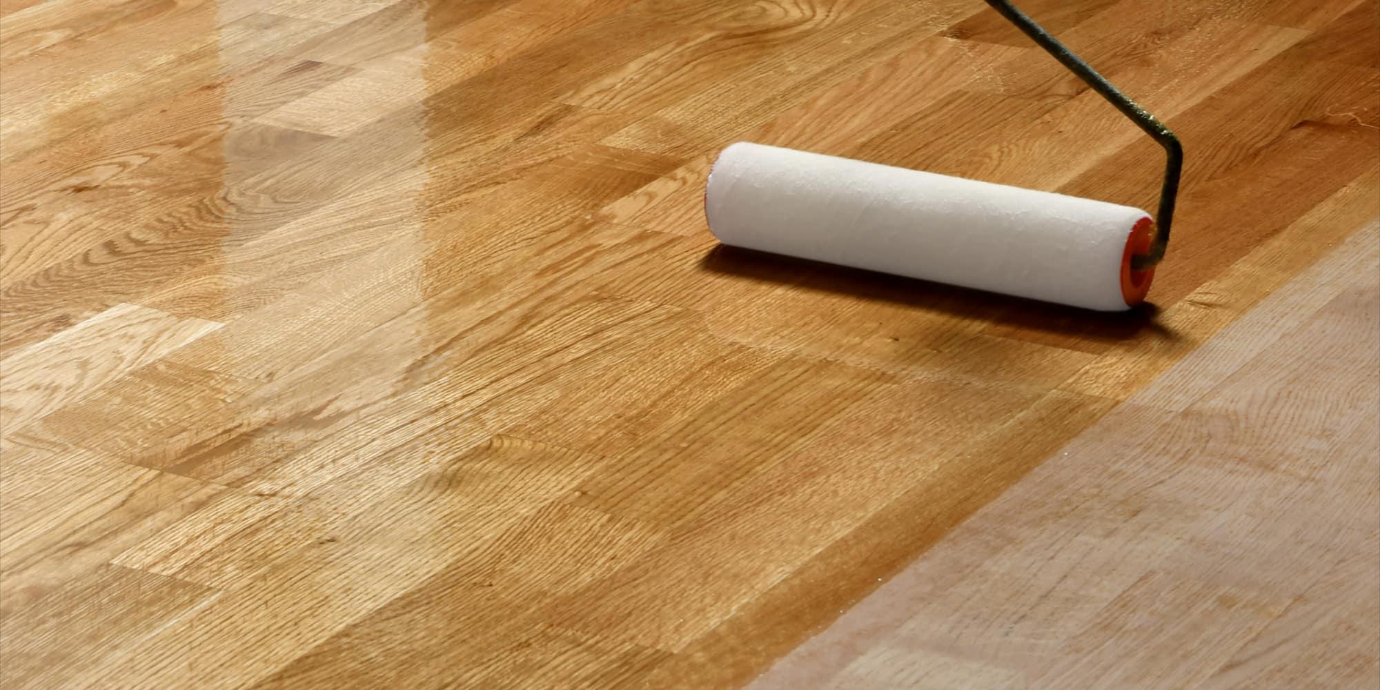 Polerowanie podłogi drewnianej